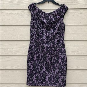 Kay Unger New York Lace Dress